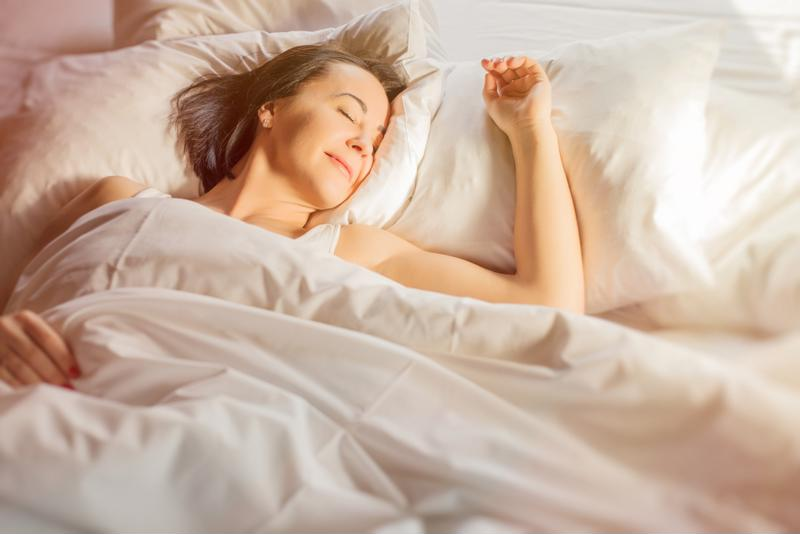 Adults should  get seven to nine hours of sleep every night.