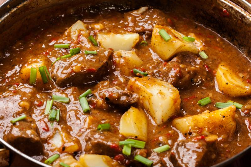 Celebrate the fall harvest with a hearty beef stew.
