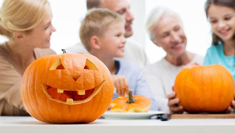 Your grandchildren are the perfect partners for getting ready for Hallloween.