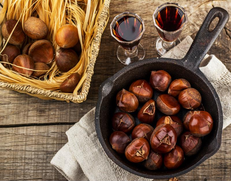 Chestnuts are one of the most festive fall ingredients.