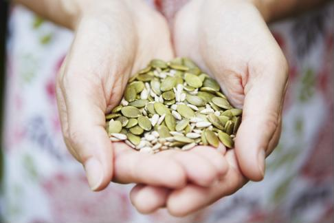Pumpkin seeds make a healthy and delicious