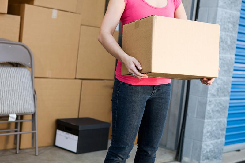A self storage solution can make moving much less stressful.
