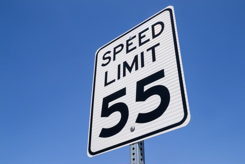 Going 20 miles over the speed limit can result in hefty fines.