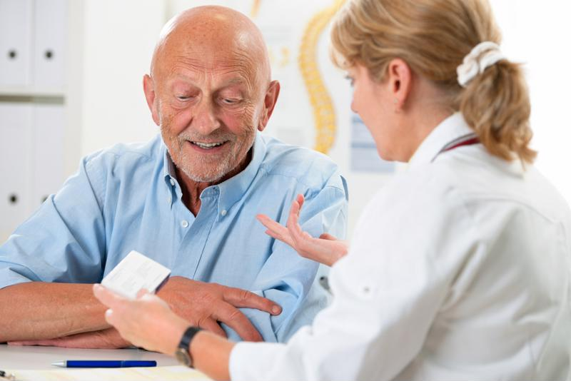 Talk to a doctor once you notice the signs of dementia.