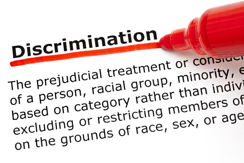 Discrimination based on religion is prohibited in the workplace.