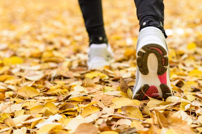 Walking, jogging or running, they're all great ways to burn calories.