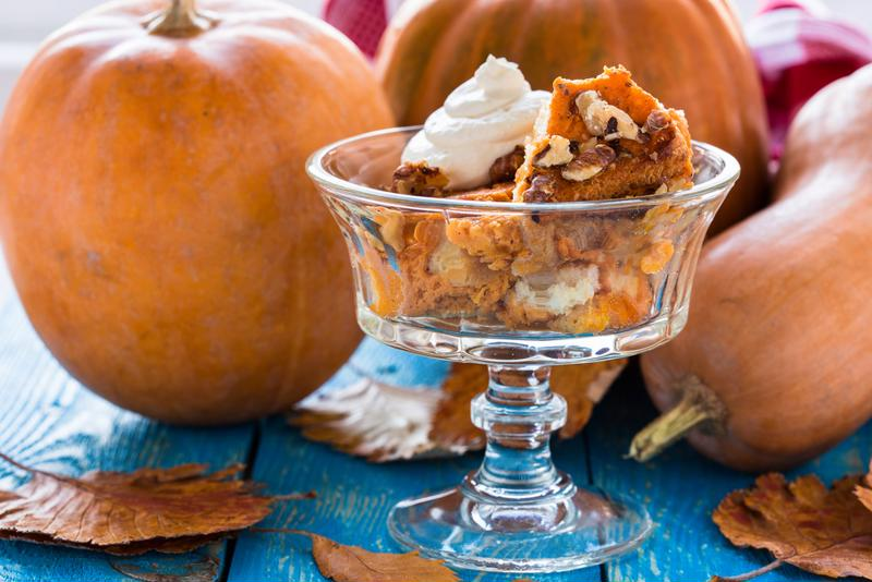 Try pumpkin pie pudding for a unique twist on the classic pumpkin pie recipe.