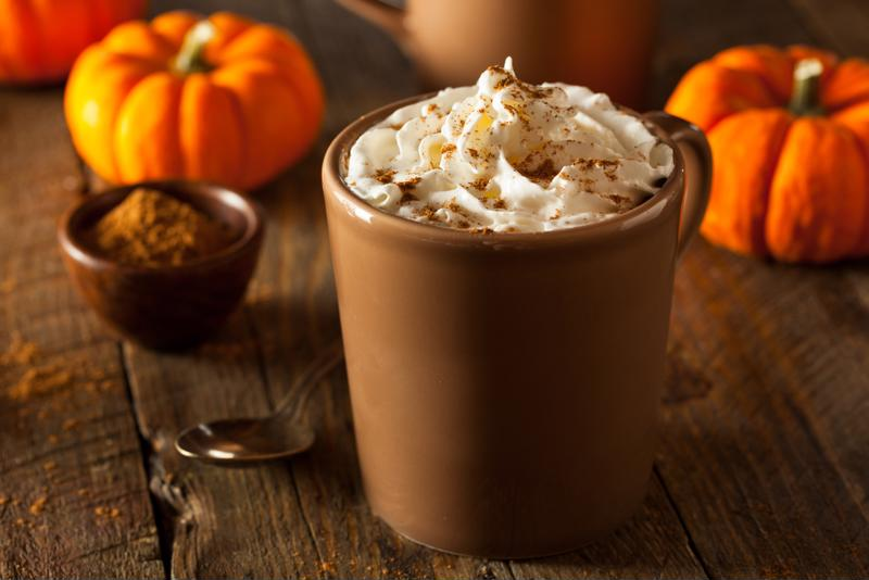 Make your own maple pumpkin spiced latte right at home this season.
