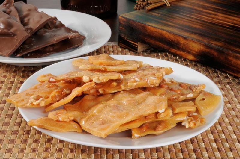 Brittle is an essential autumn dessert.