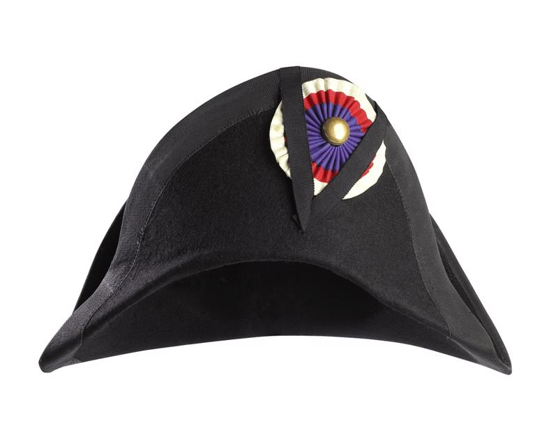 Napoleon's trademark hat hid the secret of his death: arsenic.