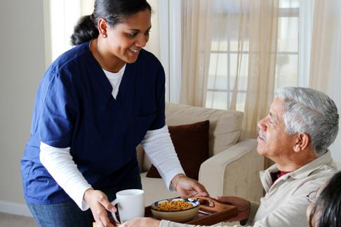 Post-acute care at home is a useful option for some patients.