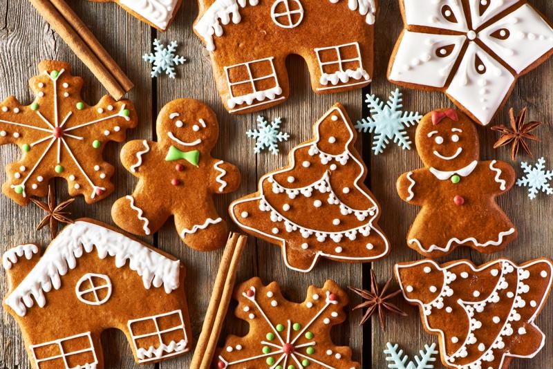Try gingerbread waffles along with those other shapes.