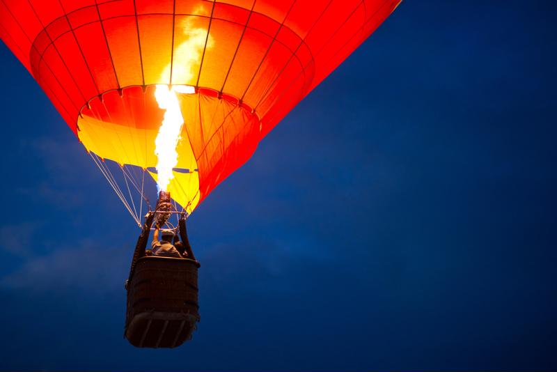 Hot air balloons will fill the Albuquerque skies this October.