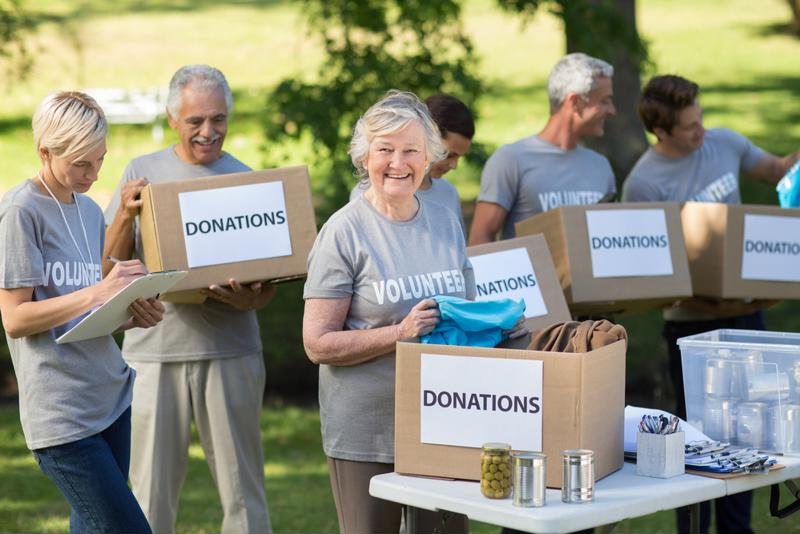 Volunteers of all ages can help your organize donation drives that raise awareness of your station and other local charities.