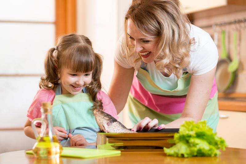 Getting your kids involved teaches them the importance of healthy eating.