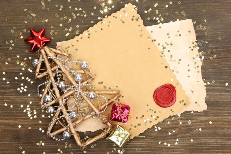 Christmas cards pile up quickly and can create a lot of clutter - it's OK to get rid of some after the holidays.