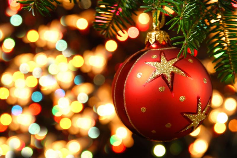 Be sure to remove all ornaments before getting rid of your Christmas tree.