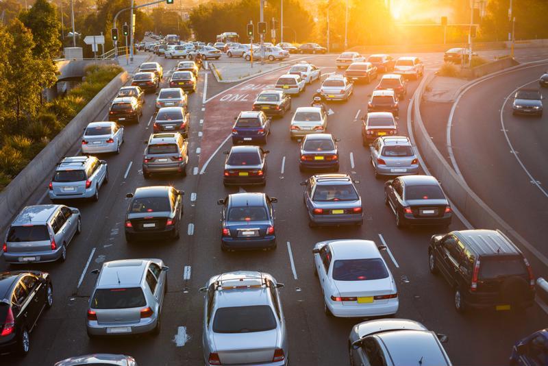 Telecommuting helps employees avoid traffic.
