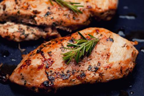 Roasted chicken is a healthy protein to prepare for dinner.