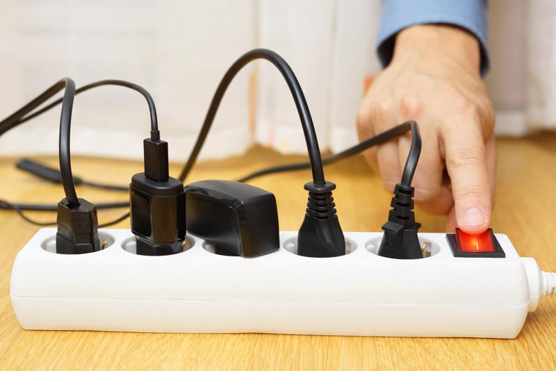 Switching off all outlets is an easy way to lower your energy bill.