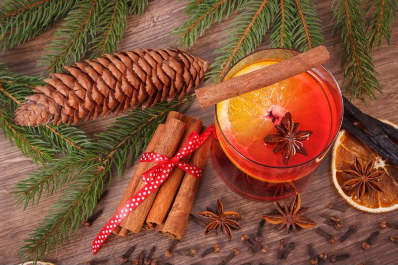 Cinnamon pumpkin toddy makes for a perfect after dinner drink.