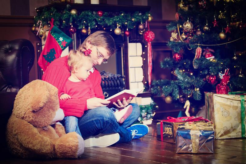 Overstimulation during the holidays can lead to temper tantrums.