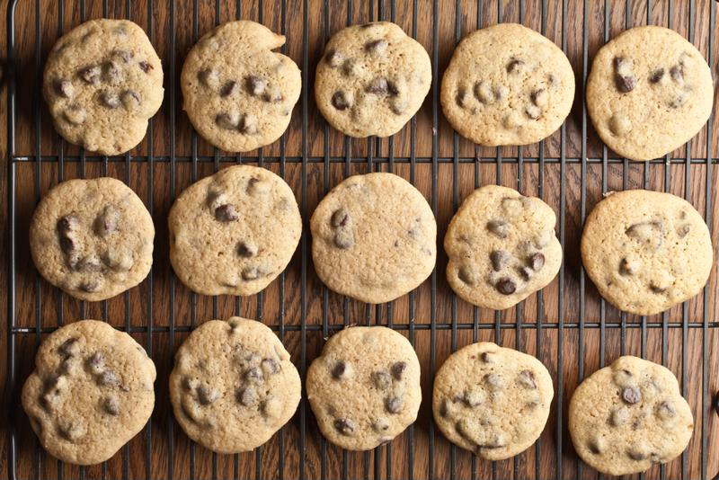 A chocolate chip cookie recipe is easy and allows you to add your own fun touches.