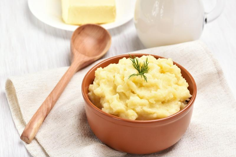 For extra creamy mashed potatoes use your stand mixer.