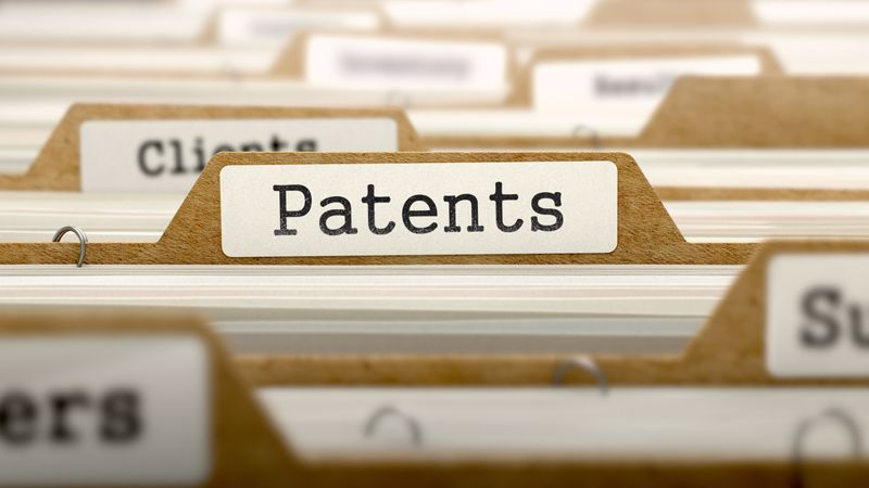 File containing patents and other intellectual property.