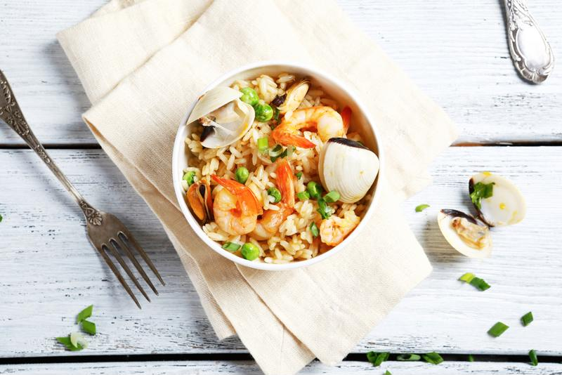 Spice up this shrimp stir-fry even more by adding more seafood.