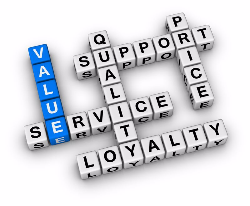 Value creation is crucial to supplier-producer relationships.