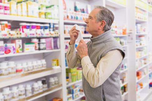 While some over-the-counter medications can help allergy symptoms, it's important to consult a doctor first to avoid interactions with any prescriptions.