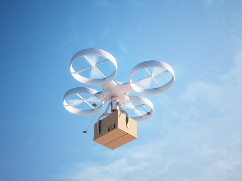 Delivery drones may soon enter the mainstream.