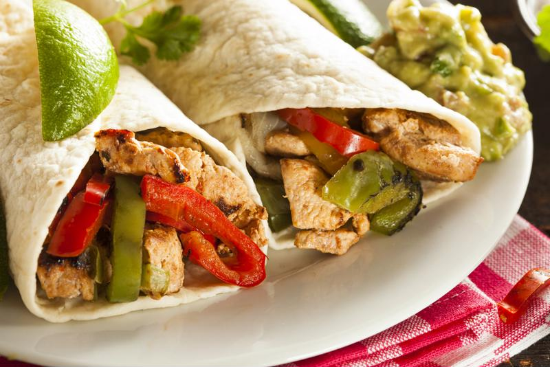 This recipe works great in fajitas or hard shell tacos.
