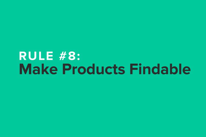 Product Content Rule #8