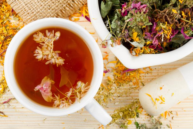 Herbal tea combinations can bring balance to your body's systems.