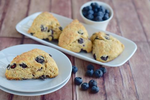 Fill the scones with blueberries and strawberries for a patriotic touch.