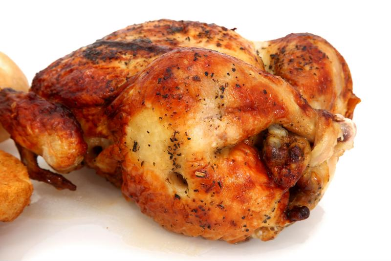 A store-bought rotisserie chicken saves time in the kitchen so you can spend more time enjoying summer outside with your family.