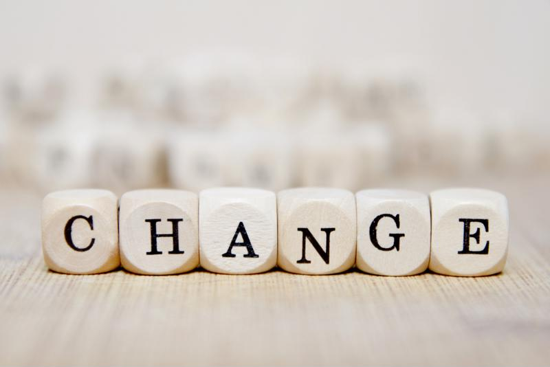 Frequent change is becoming the norm in the financial services sector.