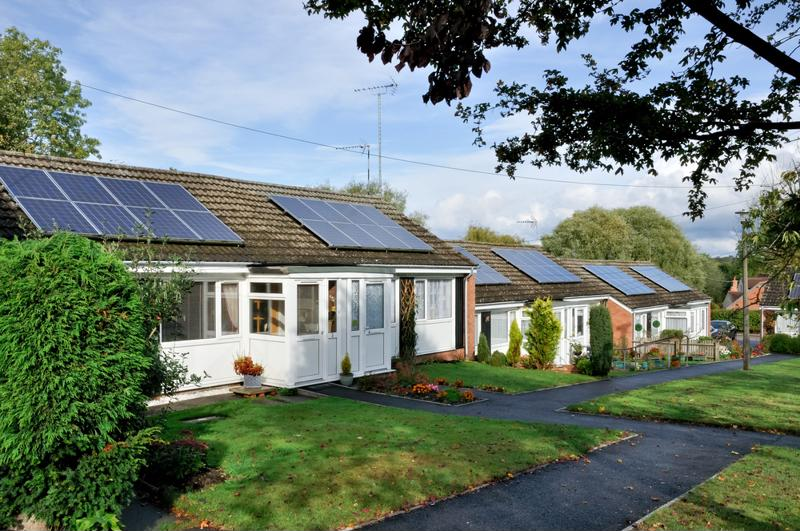 Solar panels are a sleek but powerful addition to your home.