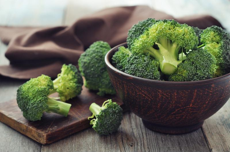Broccoli is a beneficial vegetable that's rich in vitamin C.