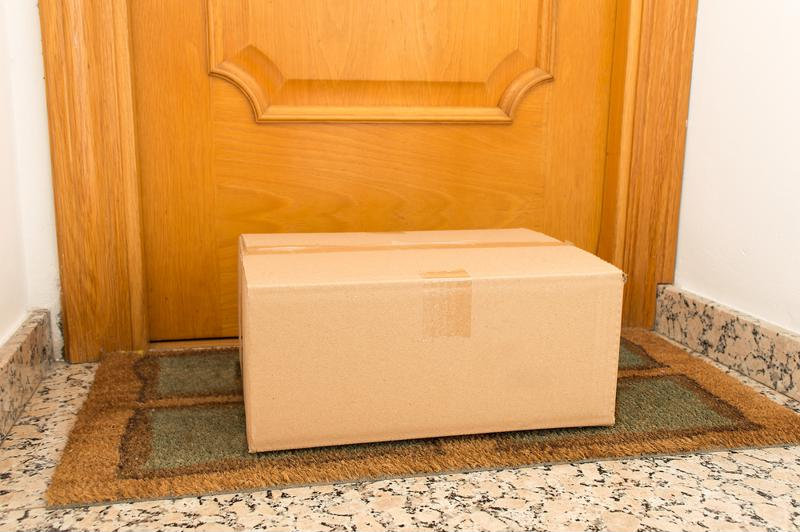 Consumers worried about a package being left unattended at their doorstep may prefer a Counter pickup.