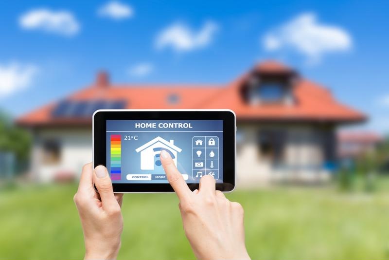 Smart homes are becoming a reality.
