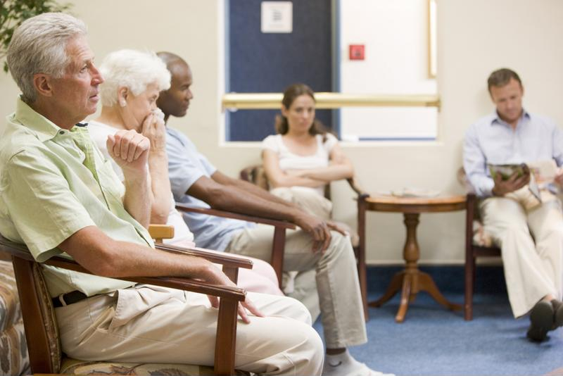 Patients don't want to sit in the waiting room past the time of their scheduled appointments.