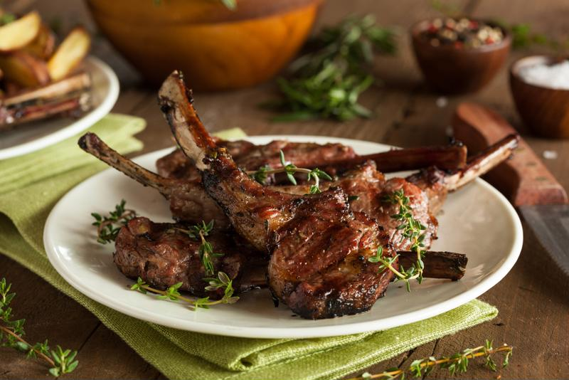 Lamb shanks with lemon and feta make for a fantastic summer meal.