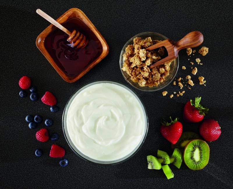 Yogurt is a great source of calcium.