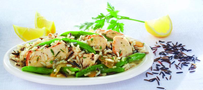 The zesty Crock-Pot  Cuisine Lemon Herb Chicken is packed with flavor.
