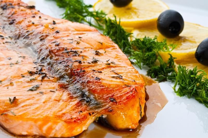 A diet rich in fish can help reduce inflammation.