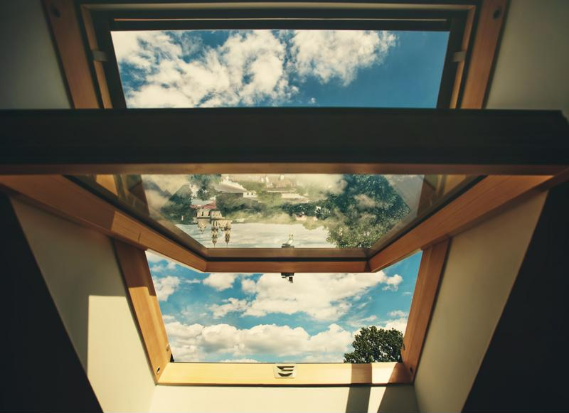 A skylight is an elegant and simple addition to any home.