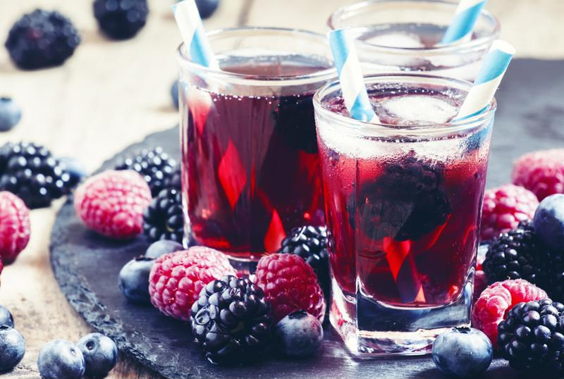 Raspberry iced tea is a delicious and refreshing beverage, perfect for any summer party menu!
